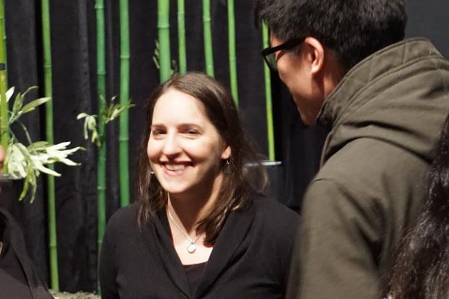 「自由之家」資深東亞研究員莎拉‧庫克(Sarah Cook)。(記者王若馨/攝影)