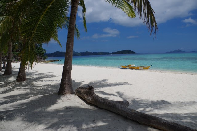Our honeymoon included a visit to Malcapuya Beach in the Philippines. The white sand beach was powdery, the snorkeling was spectacular and the fresh mangoes were delicious. Oh, and our flights and lodging were nearly free!