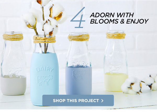 4 ADORN WITH BLOOMS & ENJOY SHOP THIS PROJECT