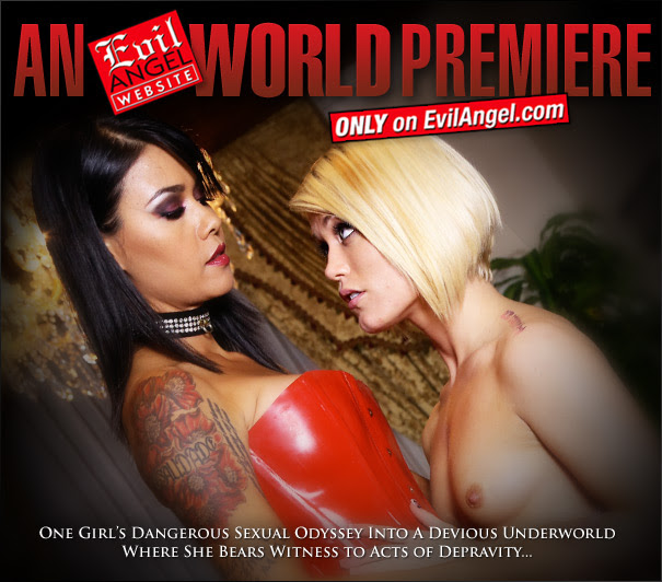 Evil Angel World Premiere: Forsaken from the newest EA Director, Dana Vespoli