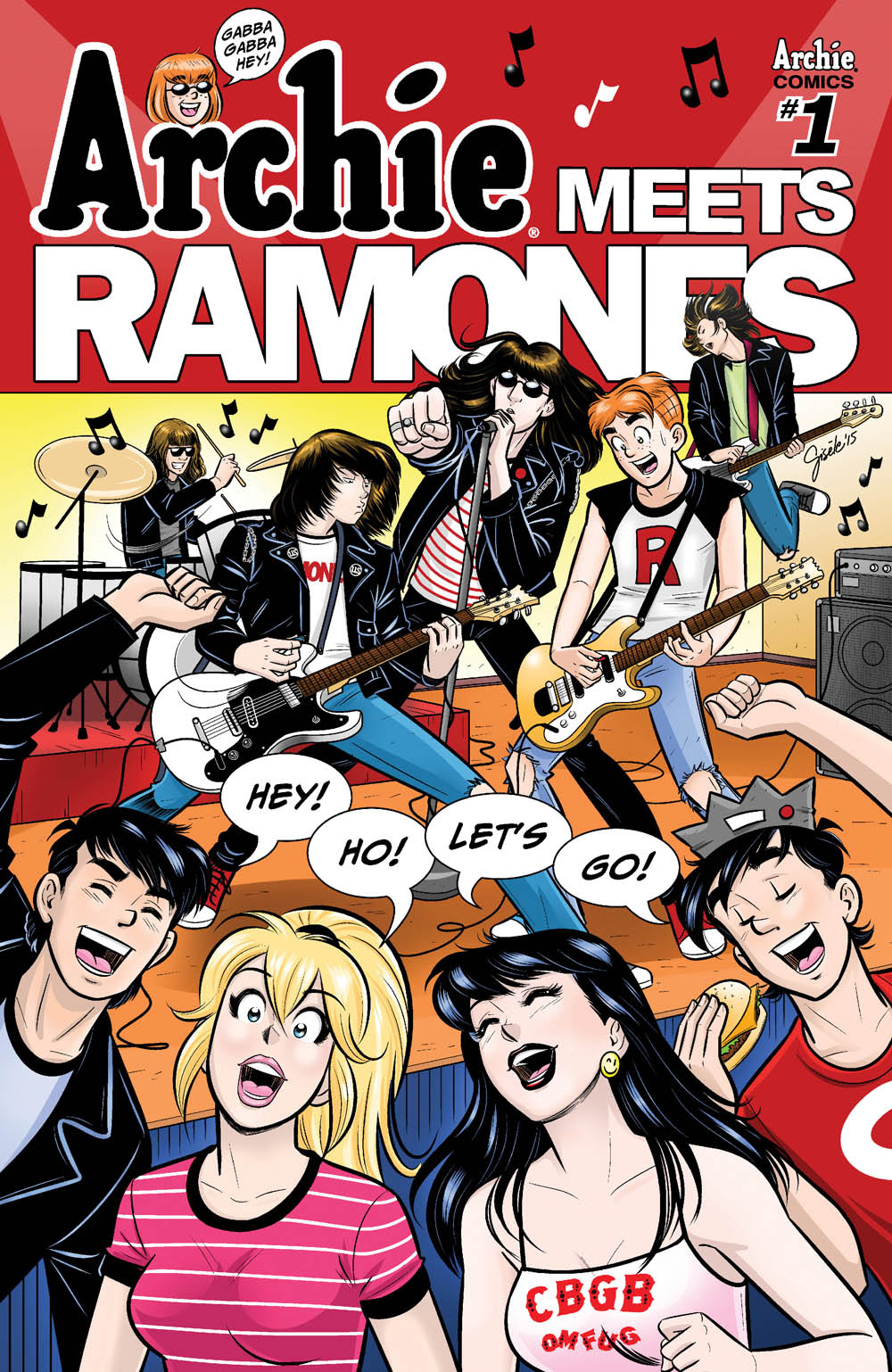 Archie Meets Ramones cover