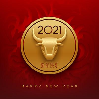 Бык - символ 2021 года
