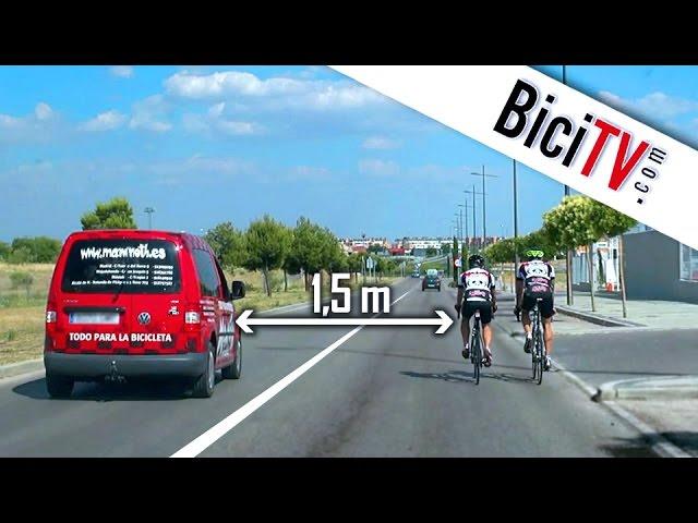 Circular en bici con seguridad