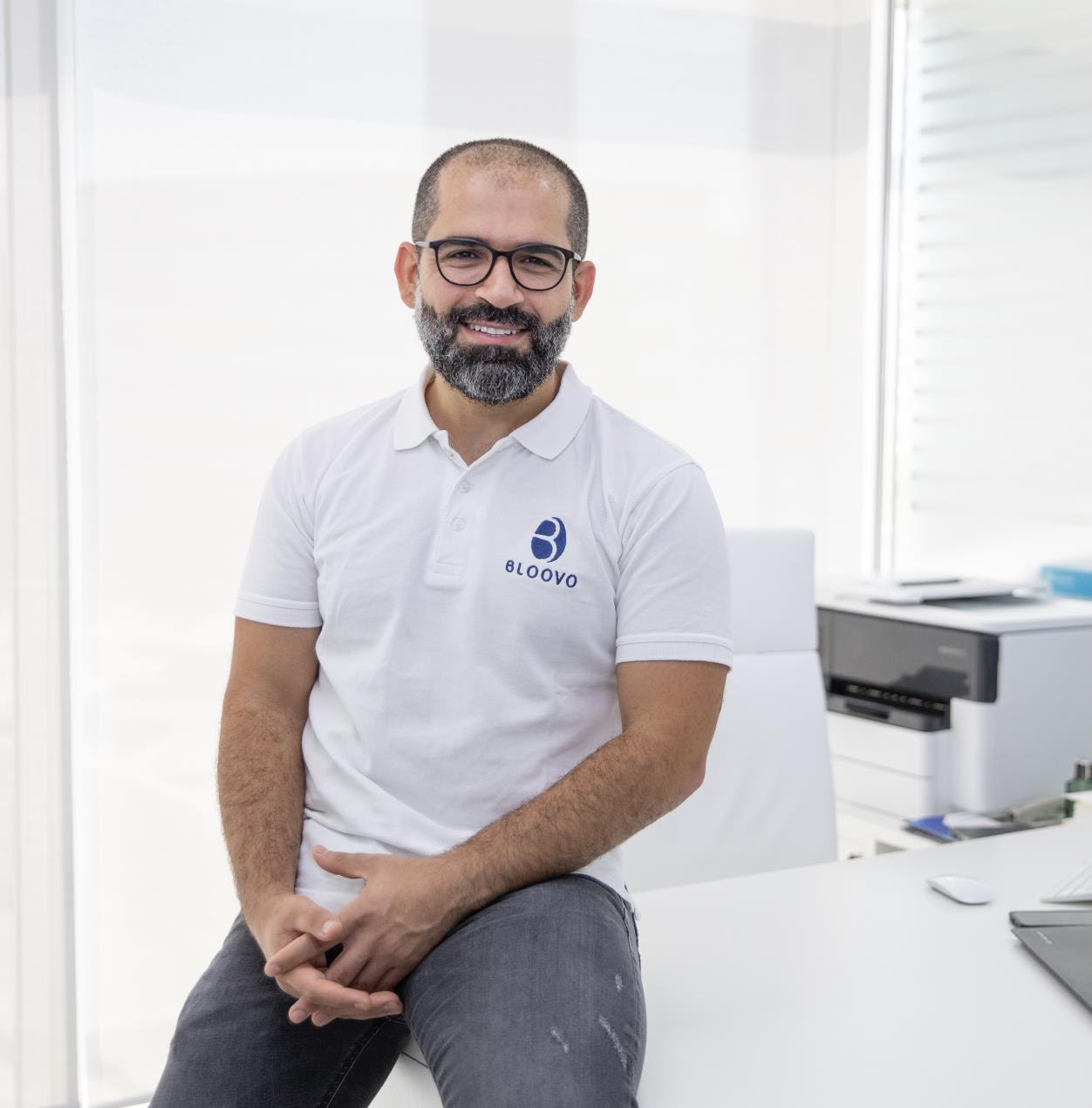Dr. Ahmad Khamis, co-founder and CEO, BLOOVO