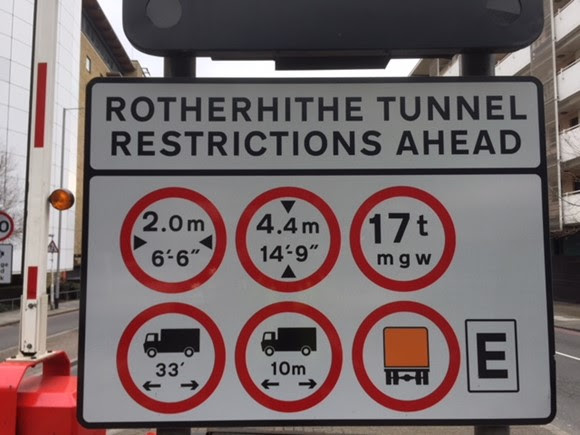 TfL Press Release - TfL reminds drivers of restrictions in century-old Rotherhithe Tunnel