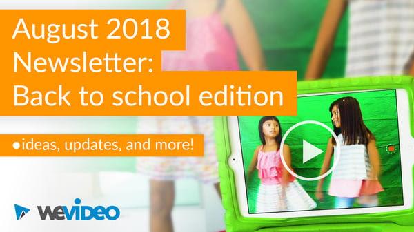 Aug 2018 Video Newsletter