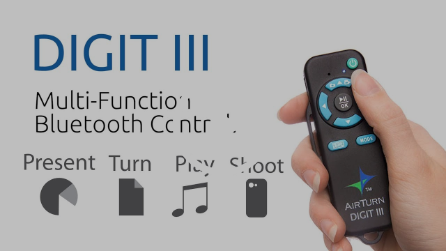 AirTurn Digit III: Video and Photo Remote Control