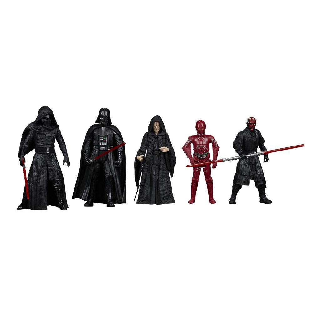 Image of Star Wars Celebrate the Saga Sith 3 3/4-Inch Action Figure Set - OCTOBER 2020