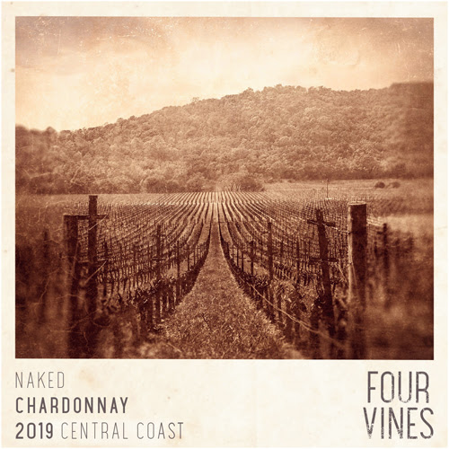 Four Vines 2019 Naked Chardonnay (Central Coast) Rating and Review | Wine  Enthusiast