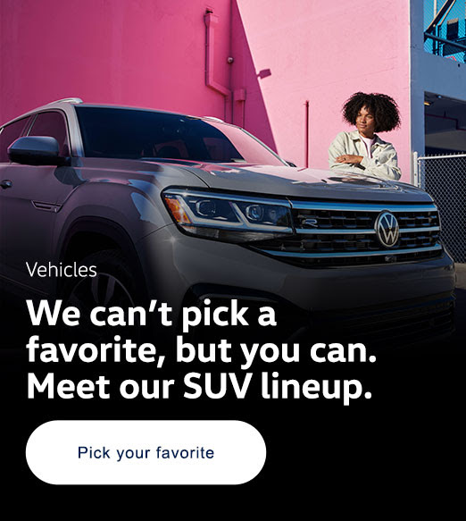Meet our SUV lineup
