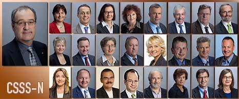 Membres de la CSSS-N