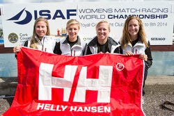 J/80s sailing women's match race worlds