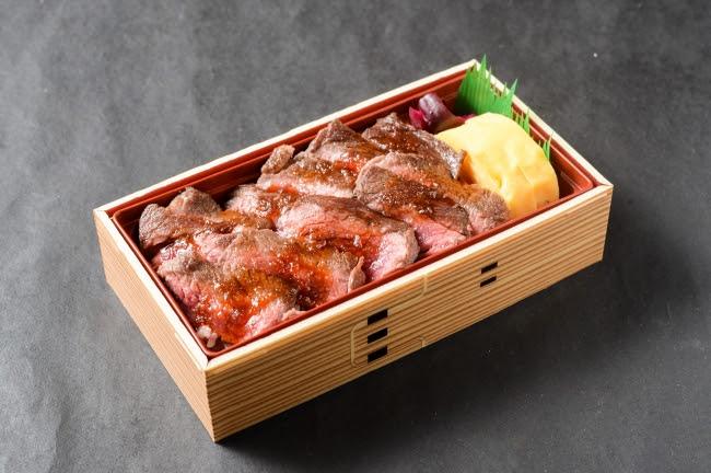 牛ステーキ弁当:1580円(+税)