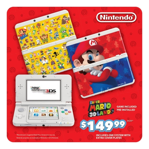 On Aug. 26, a New Nintendo 3DS bundle that includes the system, the wildly fun Super Mario 3D Land g ...