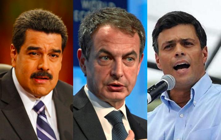Maduro, Zapatero y leopoldo