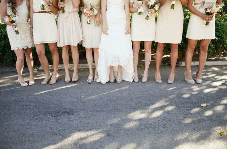 cream/neutral wedding