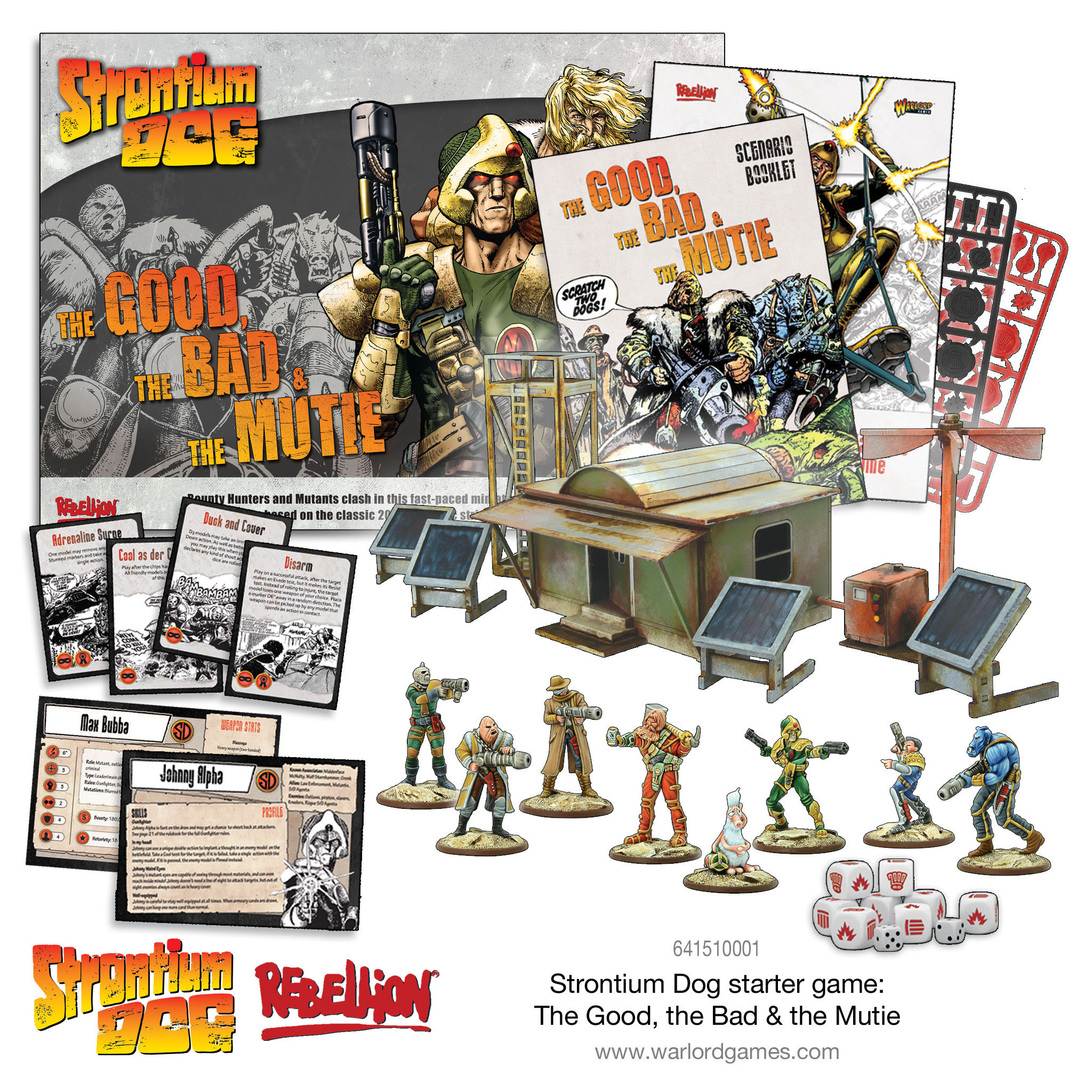 Strontium Dog - whats in the box article link