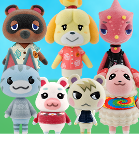 Animal Crossing: New Horizons Villager Collection Boxed Set of 7 Figures