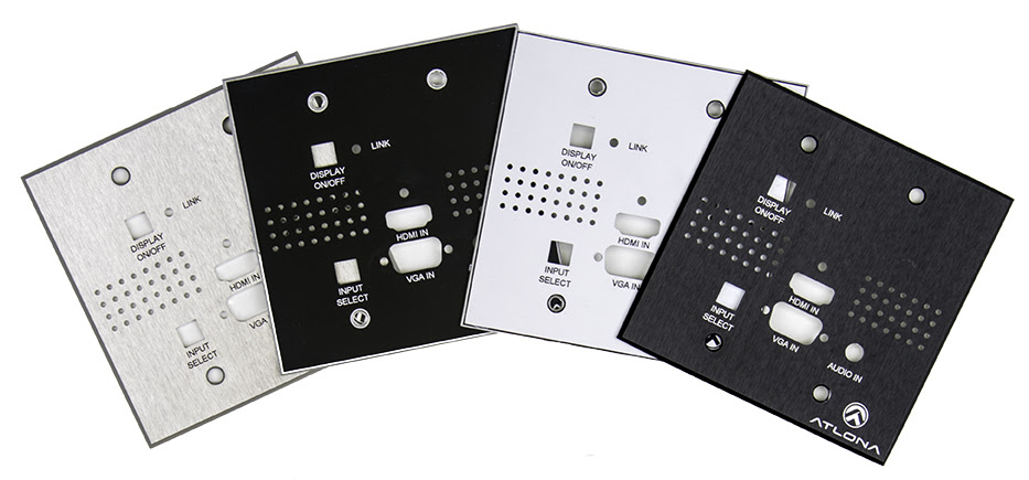 HDVS Custom Faceplates and Floor Box Options!