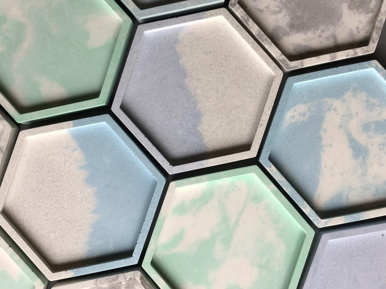 Amy Rouse Group Hex Tray