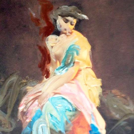 Mulher vestida 1 por Martin Sjardijn