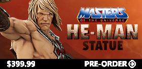 HE-MAN 23 INCH STATUE