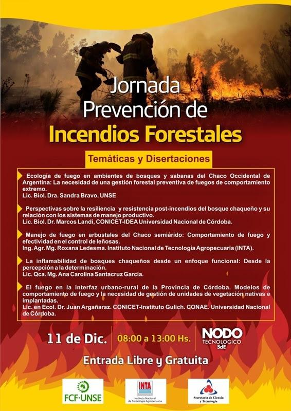 Jornada Prevención de Incendios Forestales