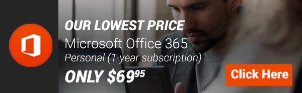 Microsoft Office 365 - Personal (1-year Subscription - Product Key Card)