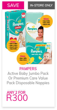 Pampers Nappies assorted