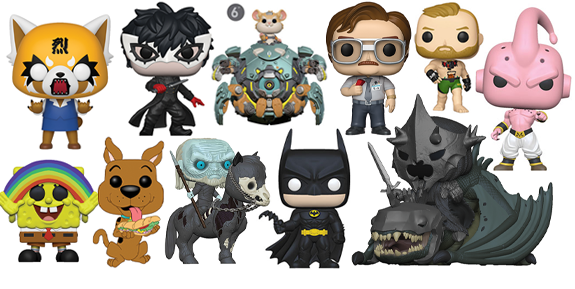NEW FUNKO POP!, ROCK CANDY, MINIS, PLUSH, & MORE