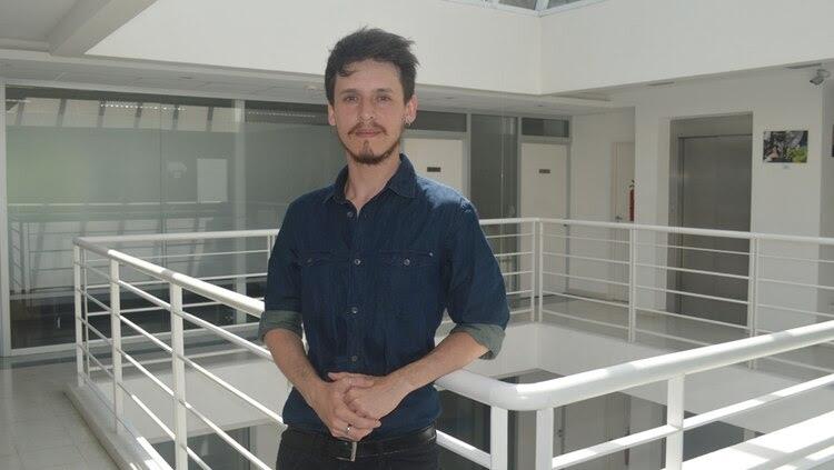 El becario del CONICET, Lisandro Campos, es el primer autor del trabajo. (Conicet)