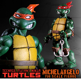 TMNT 1/6 SCALE MICHELANGELO FIGURE