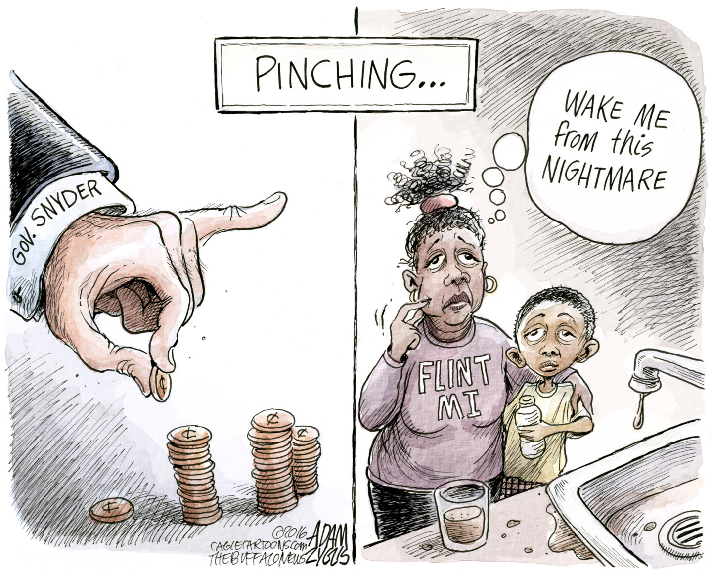 Republicans cater to the interests of the rich.