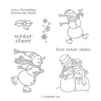 Spirited Snowmen Clear-Mount Stamp Set