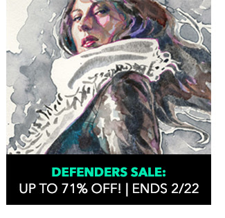 Defenders Sale: up to 71% off! Ends 2/22.