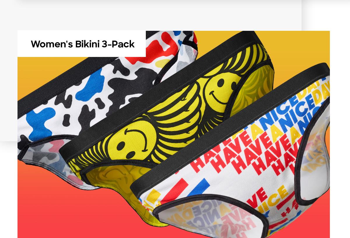 Women's Bikini 3-Pack