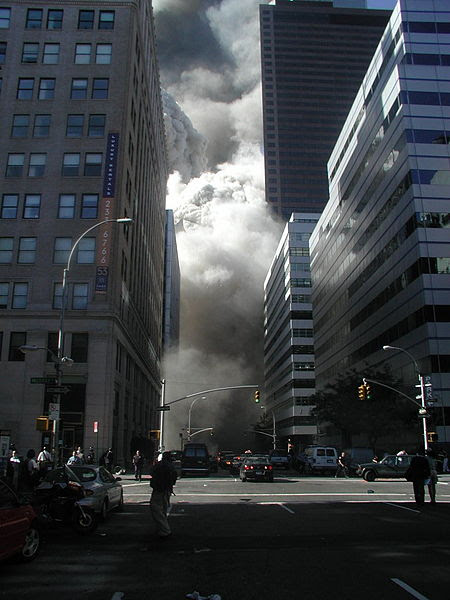 File:World Trade Center collapse - West Broadway.jpg