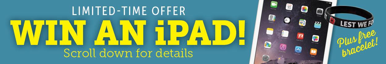 Win an iPAD!