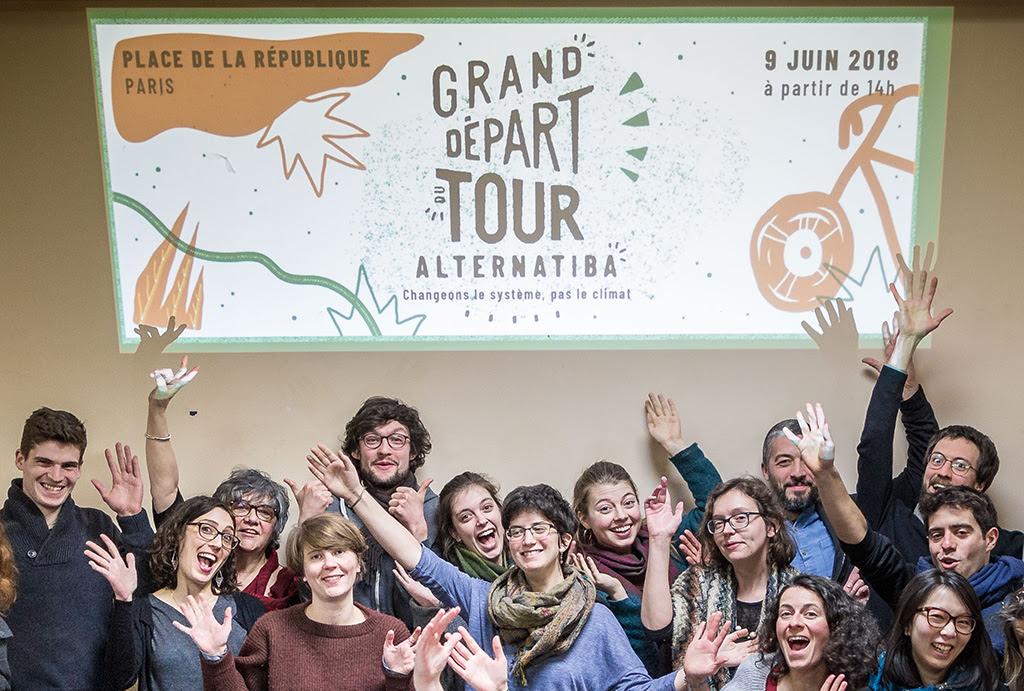 Le Grand Départ du Tour Alternatiba, c'est samedi 9 juin à Paris !