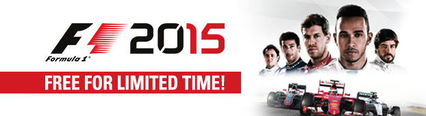 F1 2015 FREE for a limited time