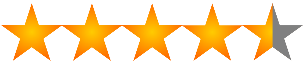 4.5 start rating