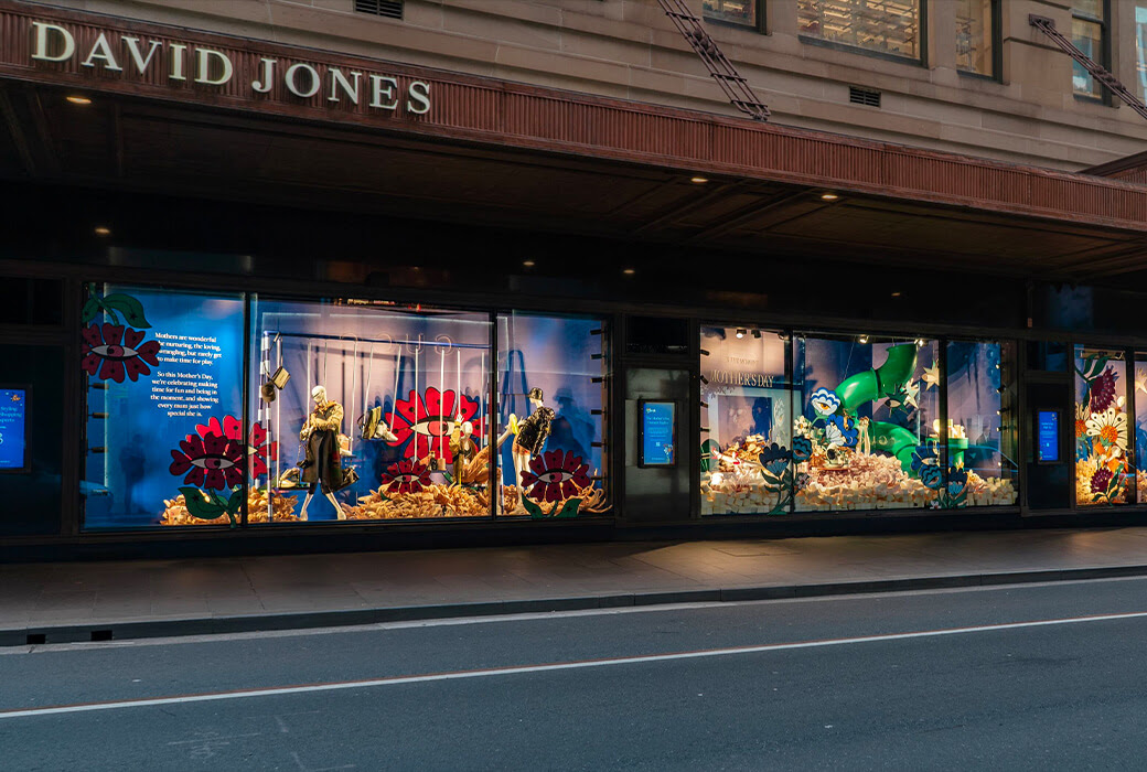 Mother's Day Windows