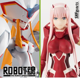 DARLING IN THE FRANXX S.H.FIGUARTS & ROBOT SPIRITS
