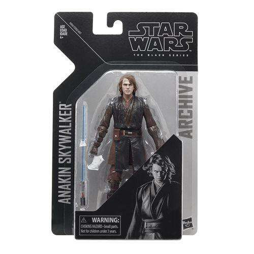 Image of Star Wars The Black Series Archive Action Figures Wave 2 - Anakin Skywalker