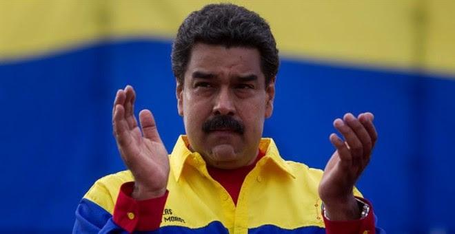 Nicolás Maduro, en el cierre de campaña./ EFE
