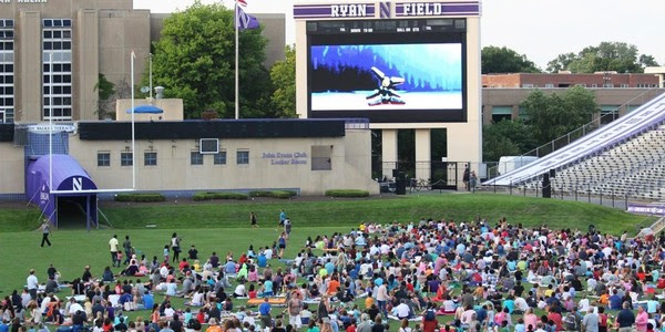 NU Movie Night at Ryan Field