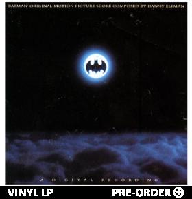 Batman (1989) Original Motion Picture Score (SYEOR Exclusive) Vinyl LP