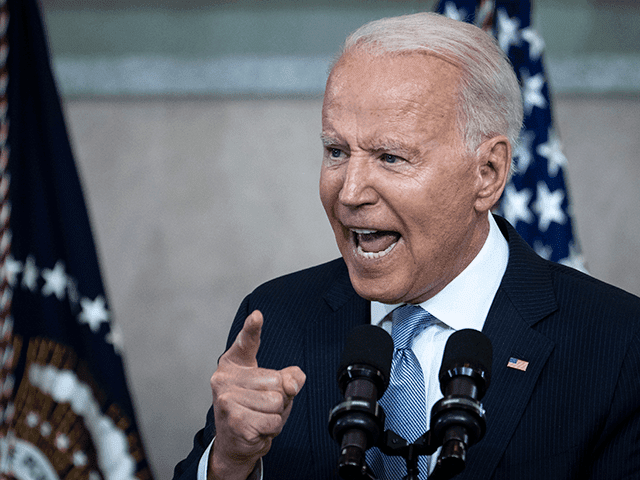 U.S. President Joe Biden speaks about voting rights at the National Constitution Center on July 13, 2021 in Philadelphia, Pennsylvania. Biden and Congressional Democrats are set to make another push for sweeping voting rights legislation as Republican state legislatures across the country continue to pass controversial voting access laws. (Photo …