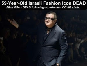 """59-Year-Old Israeli Fashion Icon Alber Elbaz DEAD After Being """"Fully Vaccinated"""" for COVID-19 Alber-Elbaz-DEAD-768x584-1-300x228"""