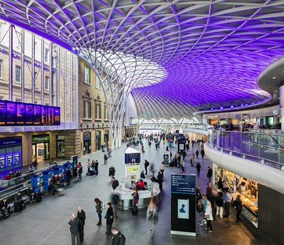 Total retail sales for Network Rail managed stations grew by 3.5% in final quarter of 2017